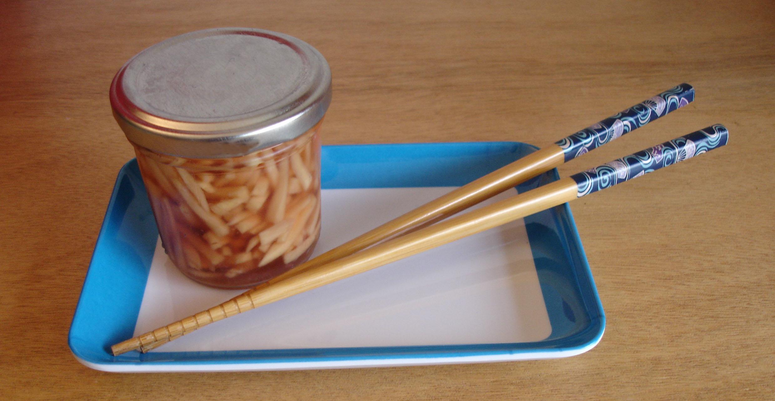 how to make japanese pickled ginger