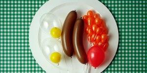 Balloon-breakfast