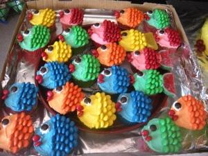 cupcake fish