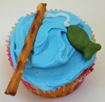 cupcake fishingpole